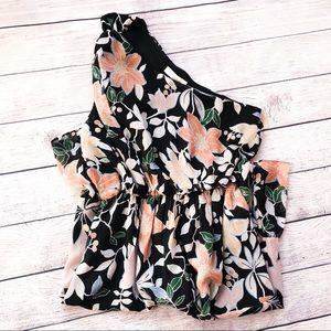 Loft One Shoulder Dress